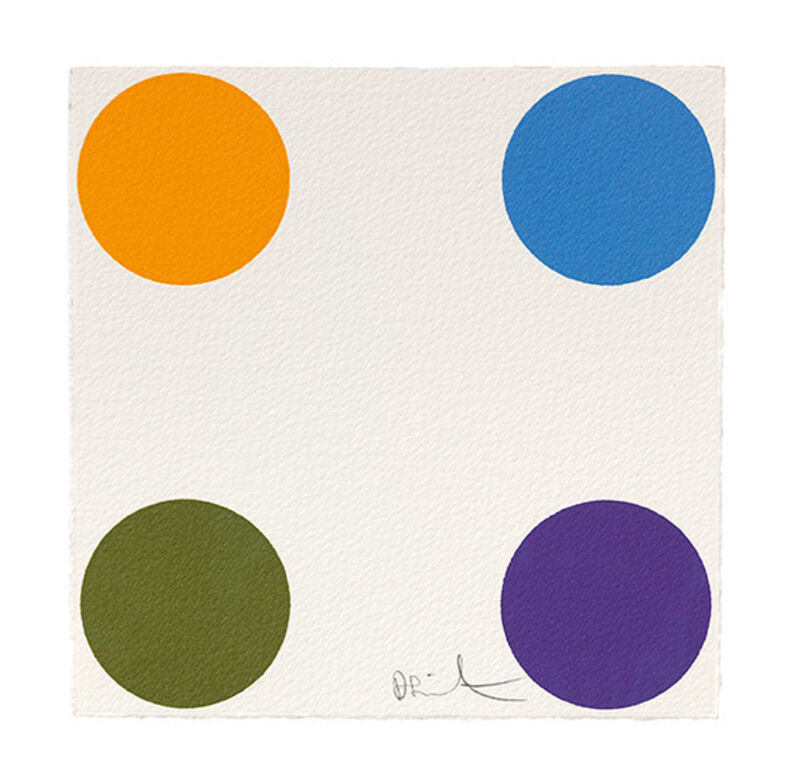 Damien Hirst, 'Nifedipine', 2012, Print, Woodcut, Galerie Koch