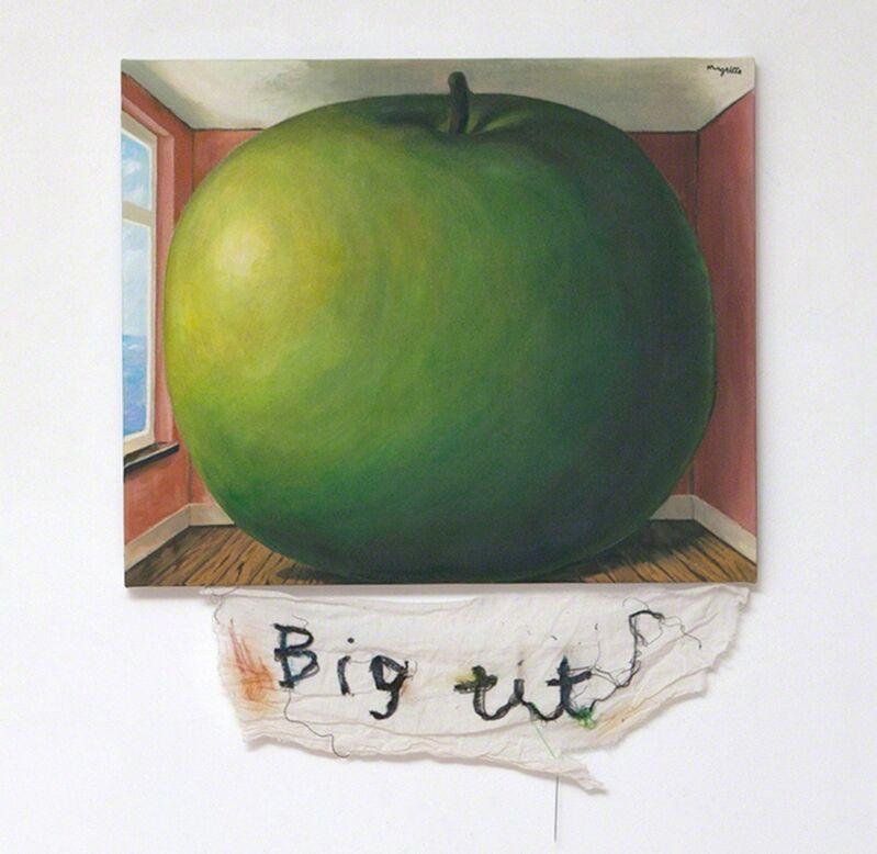 Cody Choi, 'Episteme Sabotage – Big tits ', 2014, Mixed Media, Oil on canvas, cloth, thread, PKM Gallery