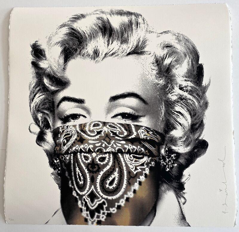 Mr. Brainwash, 'Stay Safe (Yellow)', 2020, Print, Silkscreen on paper, Artsy x Forum Auctions