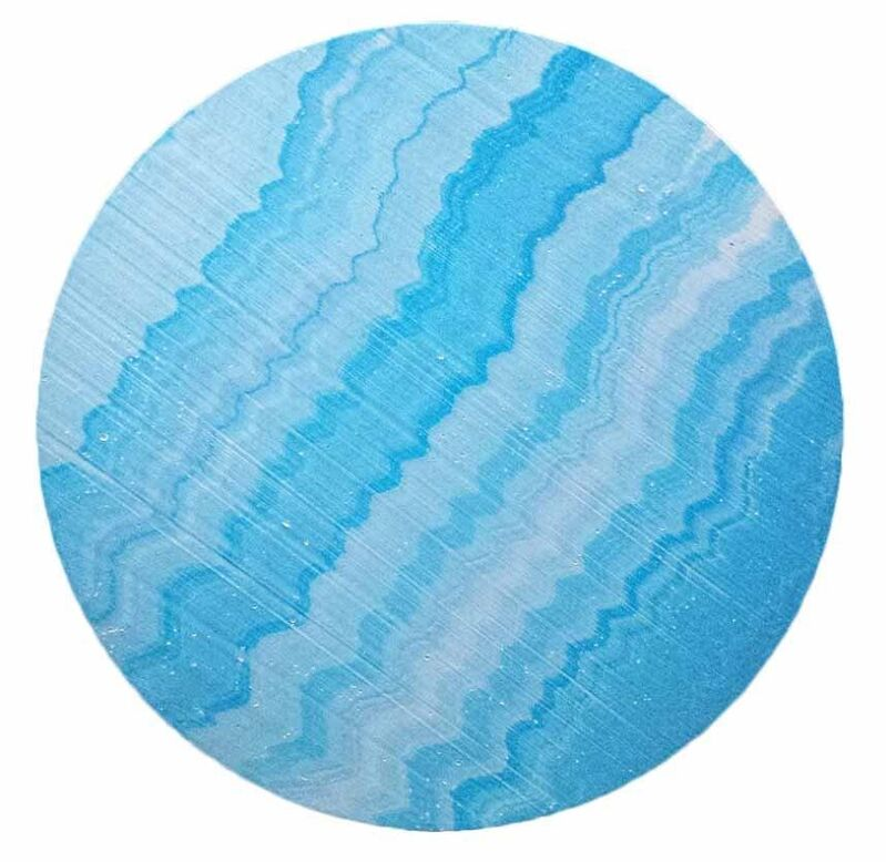 Robert Standish, 'Blue Tides', 2016, Painting, Acrylic on wood, NAVA Contemporary