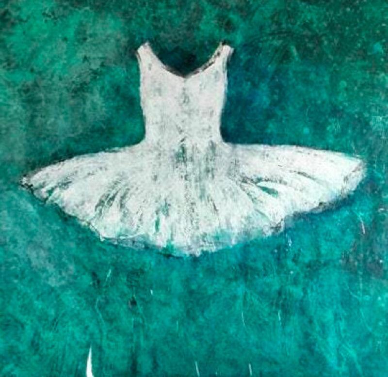 Ewa Bathelier, 'Azzurra', 2017, Painting, Acrylic on Fabric, Galleria Ca' d'Oro