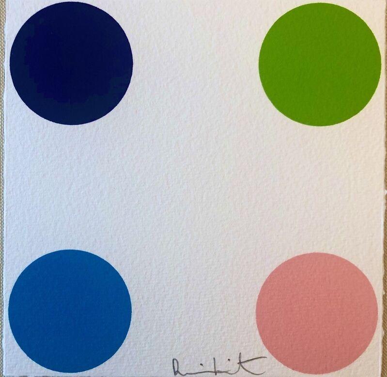 Damien Hirst, 'Ammonium Sulfamate20', 2011, Print, Woodcut on paper, Bengtsson Fine Art