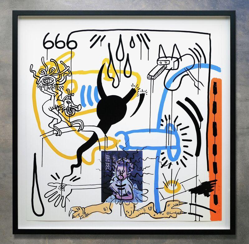 Keith Haring, 'Apocalypse No. 8', 1988, Print, Silkscreen print on Museum board, Joseph Fine Art LONDON