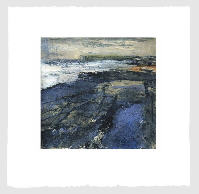 Donald Teskey, 'Fractured Shoreline I', 2012, Print, Carborundum & intaglio, Stoney Road Press