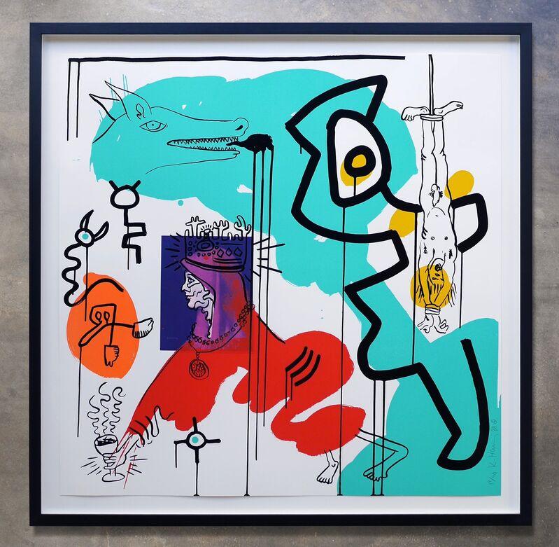 Keith Haring, 'Apocalypse No. 9', 1988, Print, Screenprint on wove paper, Joseph Fine Art LONDON