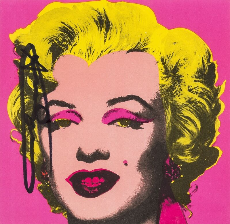 Andy Warhol, 'Marilyn (Announcement) (Not in Feldman & Schellmann)', 1981, Print, Offset lithograph printed in colours, Forum Auctions