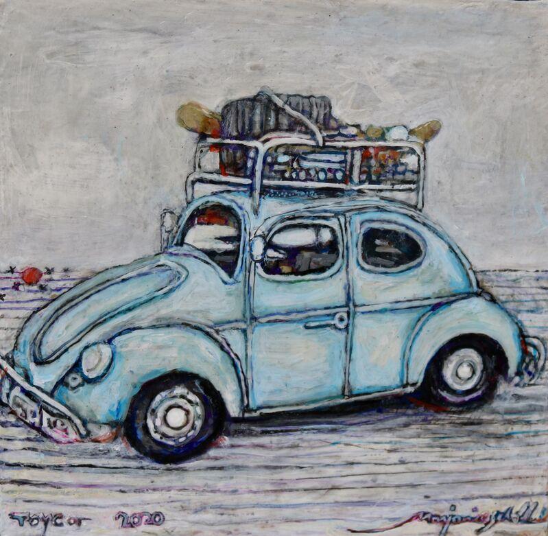Marjorie Scholl, 'Toy Car', 2020, Painting, Acrylic on wood, McVarish Gallery