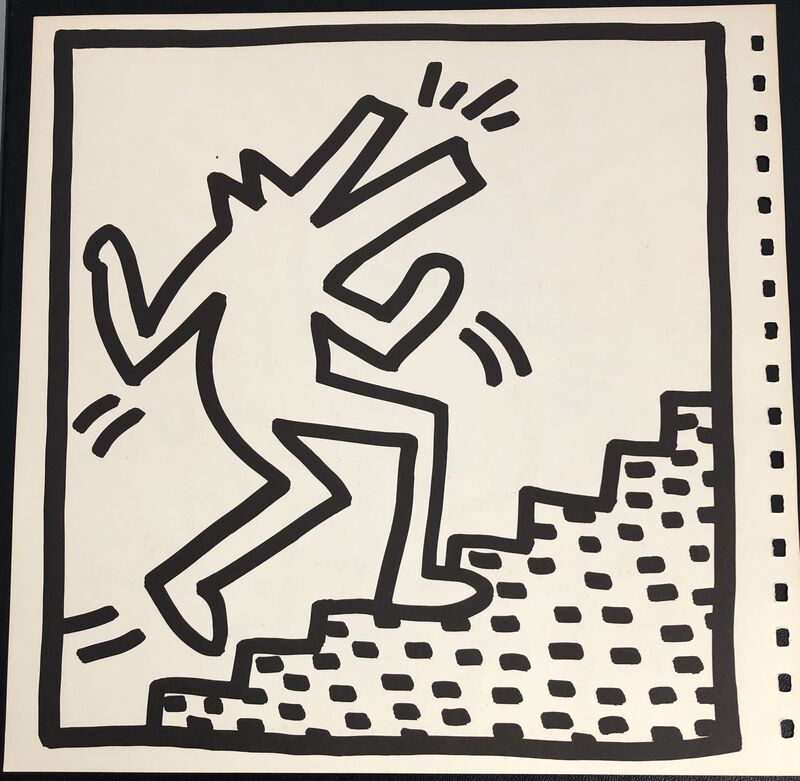 Keith Haring, 'Keith Haring (untitled) crocodile lithograph 1982', 1982, Print, Offset lithograph, Lot 180