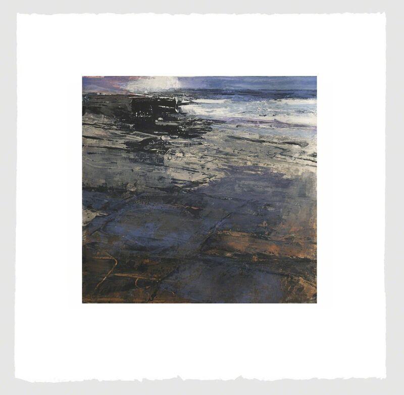 Donald Teskey, 'Fractured Shoreline V', 2013, Print, Intaglio & Carborundum, Stoney Road Press