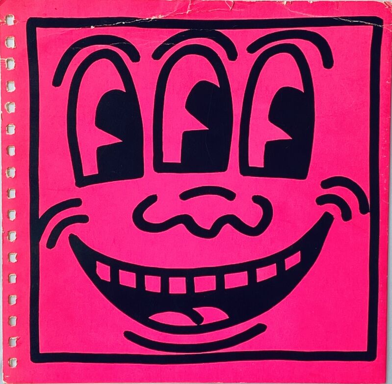 Keith Haring, 'Keith Haring Three Eyed Face 1982 (book cover)', 1982, Books and Portfolios, Offset lithograph, Lot 180