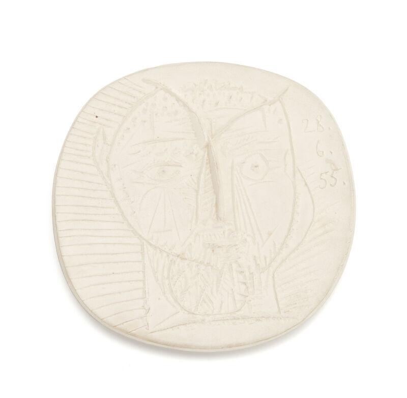 Pablo Picasso, 'Faun's Head', 1955, Design/Decorative Art, White earthenware clay, John Moran Auctioneers