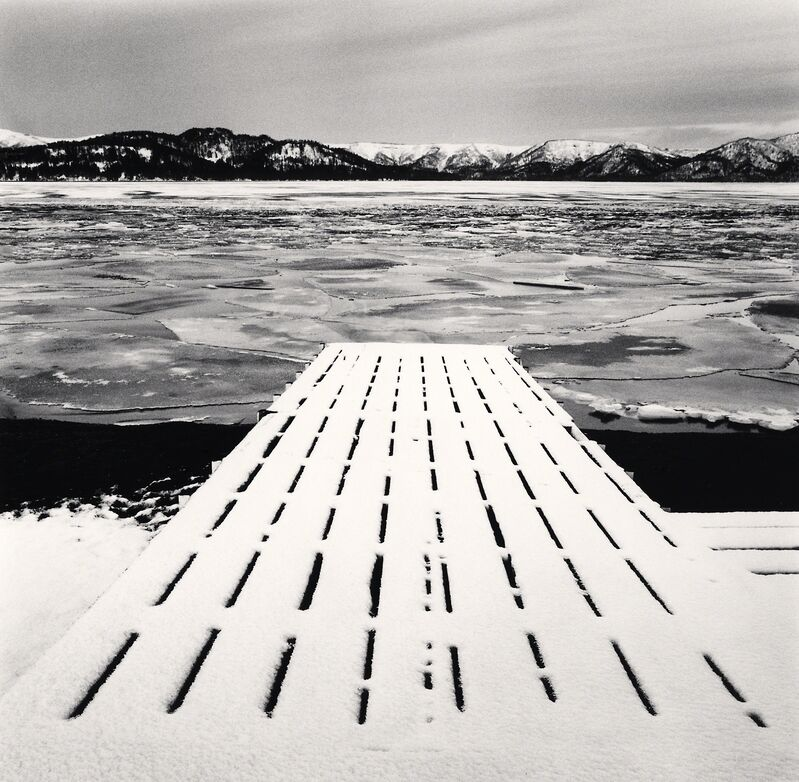 Michael Kenna, 'Freezing Morning -Kussharo Lake, Hokkaido, Japan. ', 2014, Photography, Sepia toned silver gelatin print, Galeria de Babel