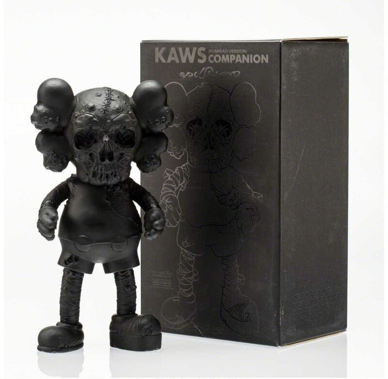 KAWS, 'Pushead Companion (Black)', 2006, Sculpture, Painted cast vinyl, Lougher Contemporary