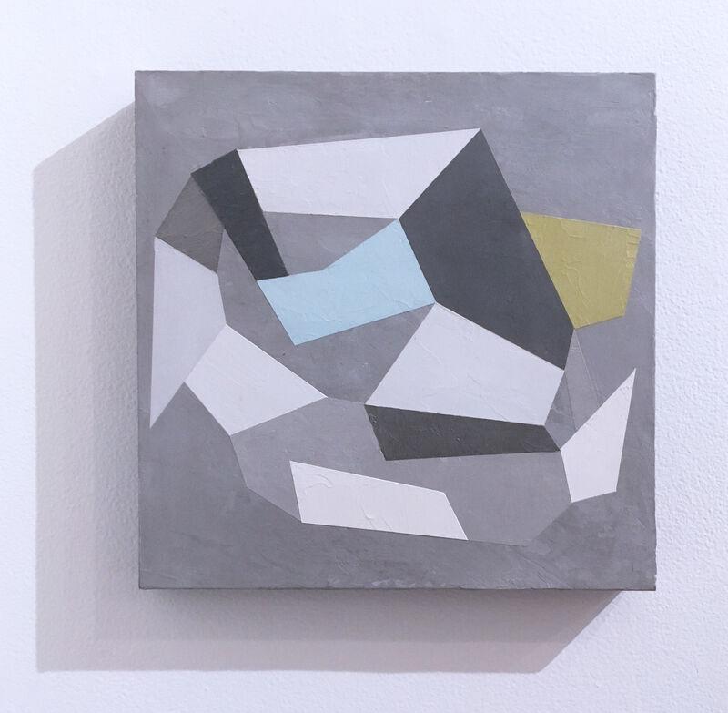 Kati Vilim, 'Habitat Fragmentation III', 2020, Painting, Plaster and acrylic on wood panel, Deep Space Gallery