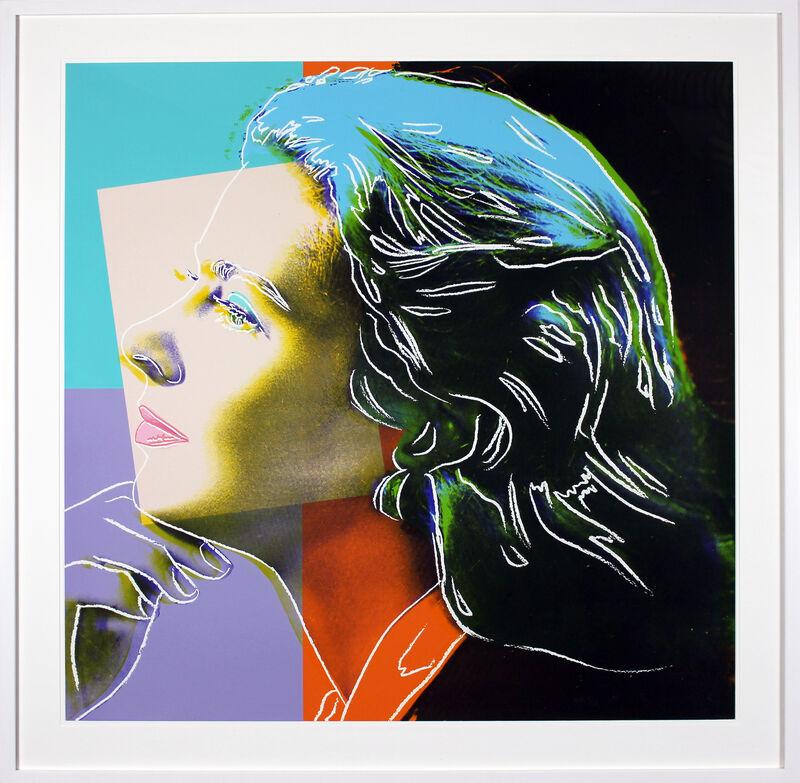 Andy Warhol, 'Ingrid Bergman, Herself (FS II.313)', 1983, Print, Screenprint on Lenox Museum Board., Gormleys Fine Art