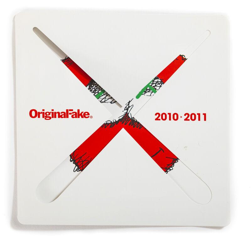 KAWS, 'ORIGINALFAKE HOLIDAY CARD', 2010-2011, Other, Folding holiday card, DIGARD AUCTION