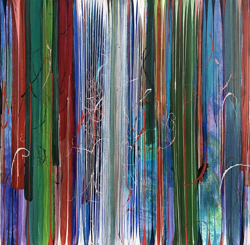 Pat O'Hara, 'Gestures', 2021, Painting, Acrylic on Panel, Bau-Xi Gallery