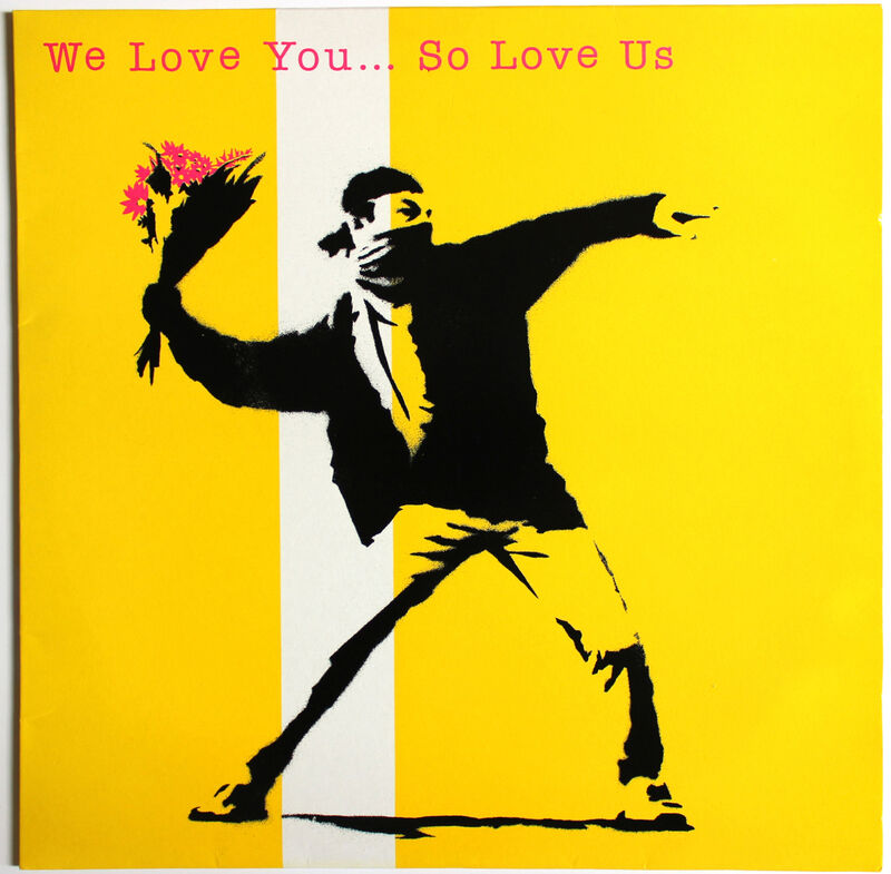 Banksy, 'We Love You So Love Us', 2000, Other, Vinyl record and cover, EHC Fine Art Gallery Auction