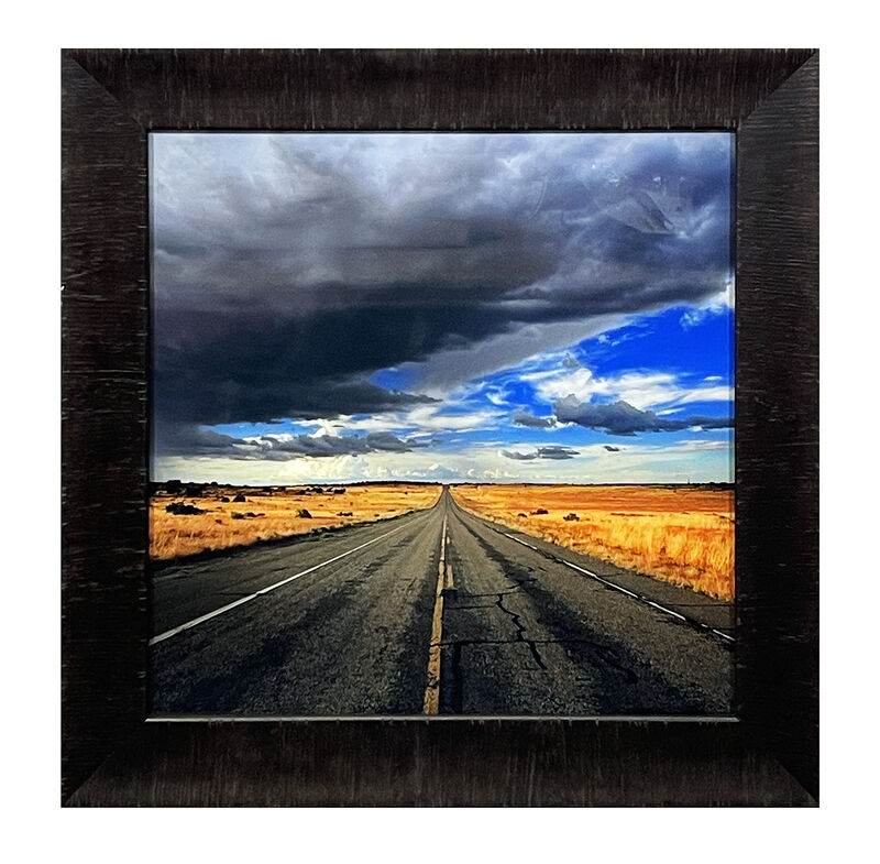 Peter Lik, ''Highway'', 2015, Photography, Acrylic print on Fujiflex Crystal Archive Media. Each image is then protected between 2 layers of Crystal Clear acrylic. Custom framed in heavy museum glass in 3in. wide textured dark wood frame molding., Signari Gallery