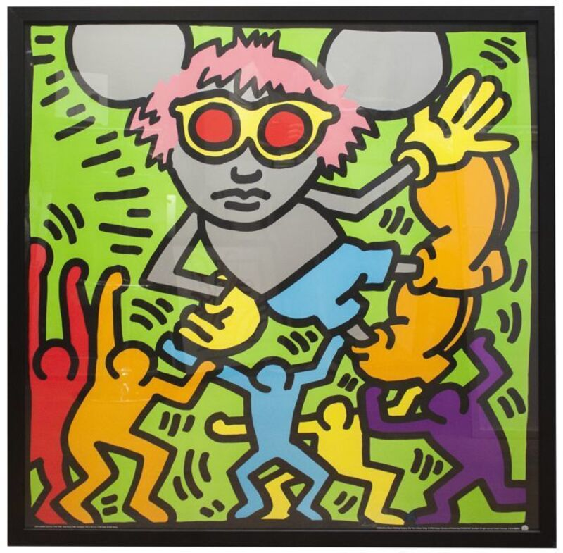 Keith Haring, 'Andy Mouse', ca. 1993, Ephemera or Merchandise, Offset lithograph poster, EHC Fine Art
