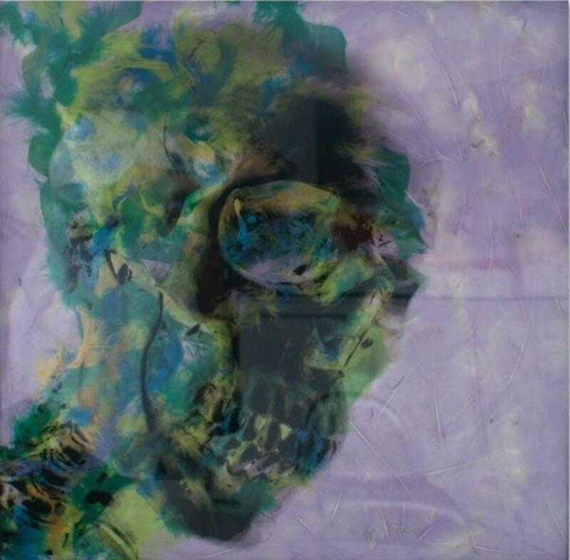Daniel Gastaud, 'Vanity- Now Marilyn is dead', 2017, Mixed Media, Feathers under Plexiglas, Eden Fine Art