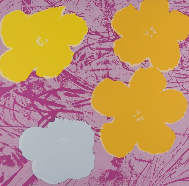 Andy Warhol, 'Flowers (Sunday B. Morning)', Reproduction, The complete set of ten screenprints in colours, Forum Auctions