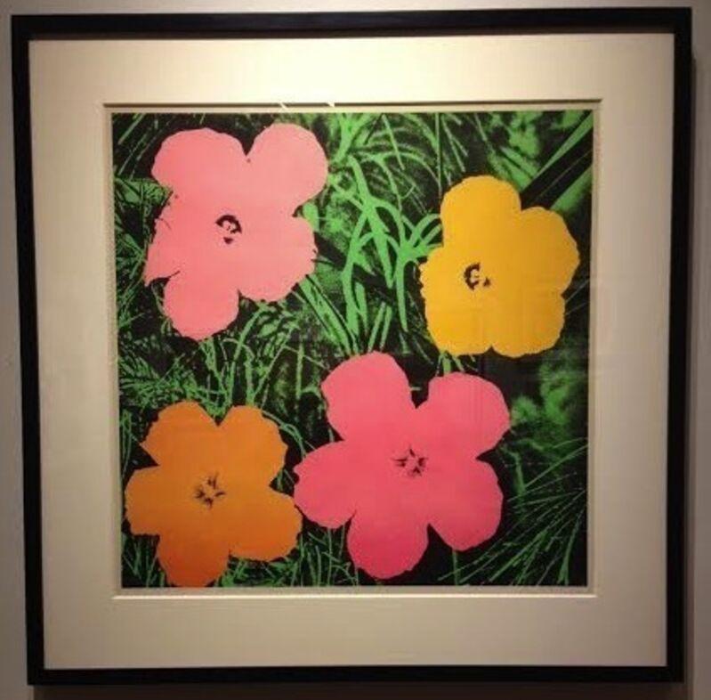 Andy Warhol, 'Flowers 1964', 1964, Print, Offset lithograph, Vertu Fine Art