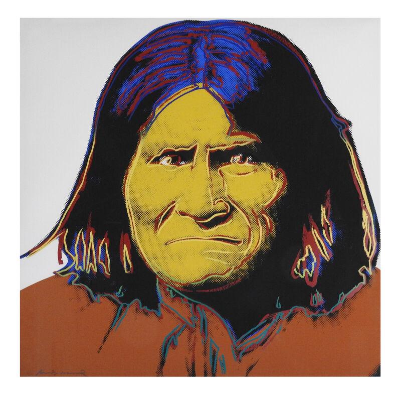Andy Warhol, 'Geronimo', 1986, Print, Screenprint on Lenox Museum board, Artsy x Rago/Wright