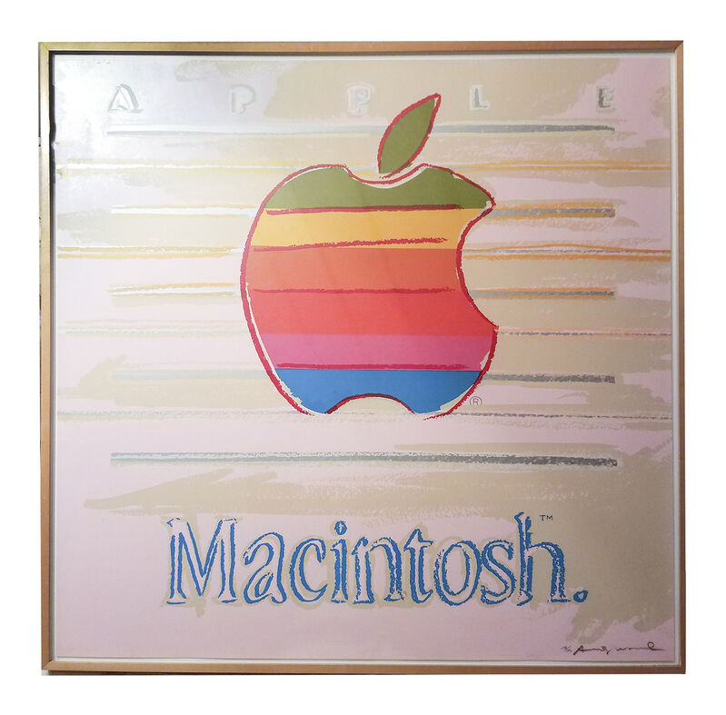 Andy Warhol, 'Apple', 1985, Print, Screenprint from the Ads Portfolio. Printed on Lenox Museum Board., Air Mattress Gallery
