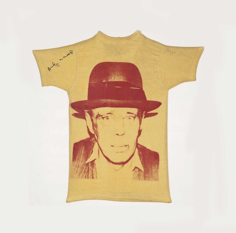 Andy Warhol, 'Beuys', 1980, Other, Silkscreen on Hanes T-Shirt, EF ARTE