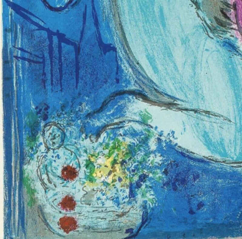 Marc Chagall, 'Quai de fleurs 1954', 1954, Print, Original Lithograph in Colors on Wove Paper, NCAG
