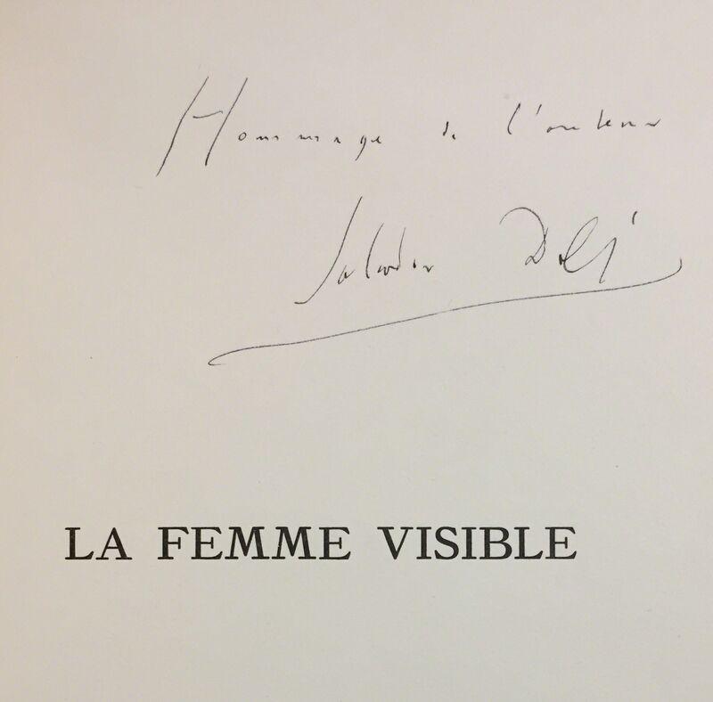 Salvador Dalí, 'La Femme Visible', 1930, Books and Portfolios, Heliogravure, Wallector