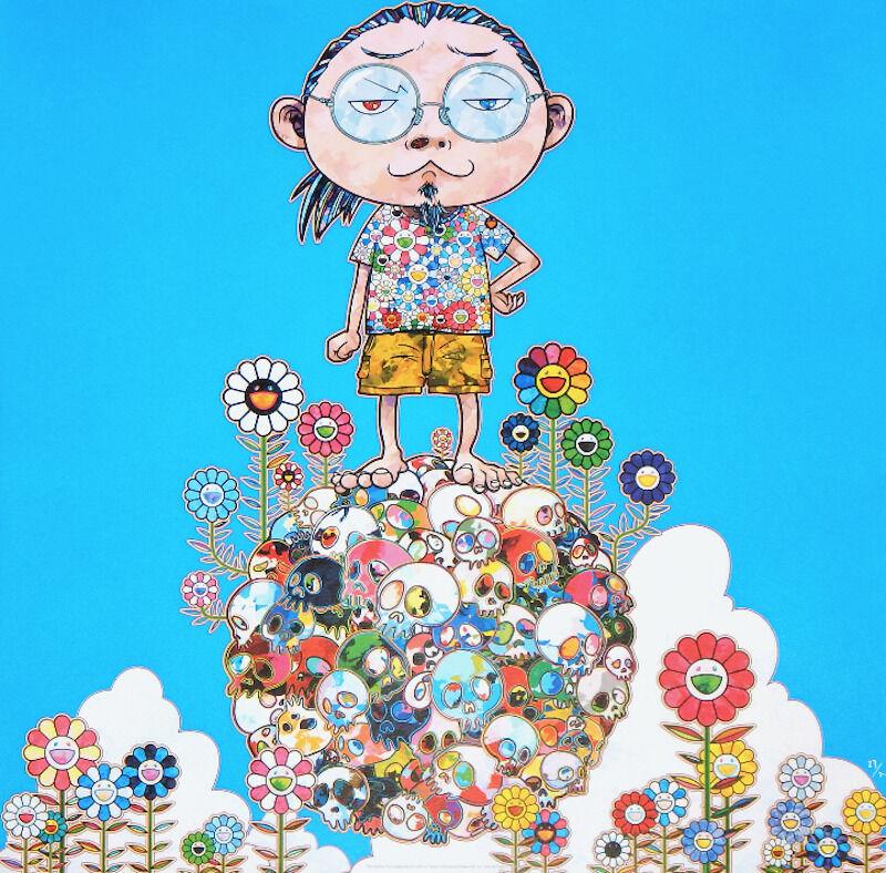 Takashi Murakami, 'Me Among the Supernatural', 2013, Print, Offset lithograph, Vogtle Contemporary