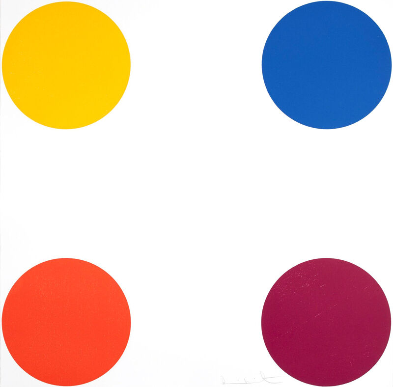 Damien Hirst, 'Norleucine', 2010, Print, Wood Cut, Oliver Clatworthy Gallery Auction