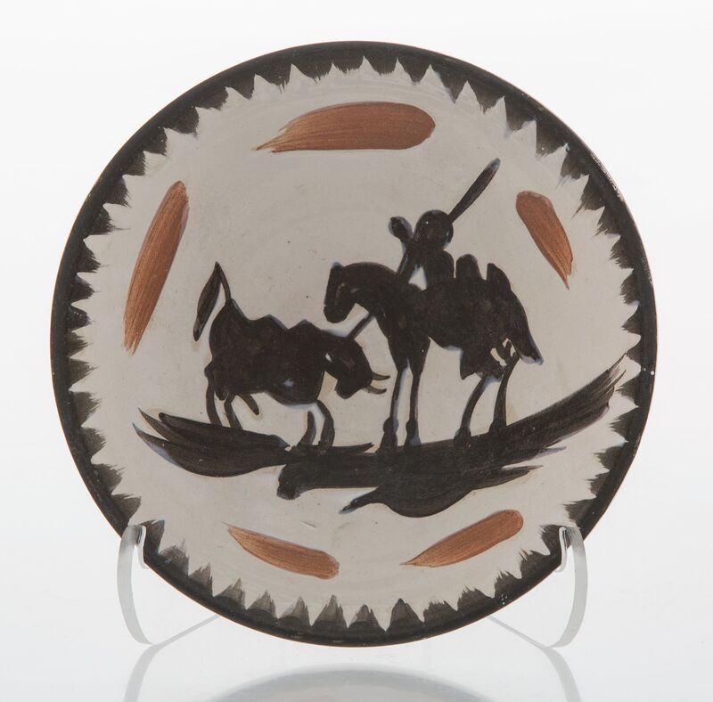Pablo Picasso, 'Picador', 1955, Design/Decorative Art, Terre de faïence bowl, partially glazed and painted, Heritage Auctions
