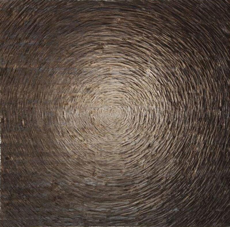 Alfred Haberpointner, 'Zentralisation (W-ANO)', 2014, Sculpture, Spruce wood, hacked, Mario Mauroner Contemporary Art Salzburg-Vienna