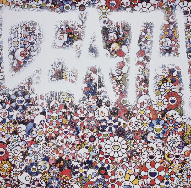 Takashi Murakami, 'Death Flower', 2016, Print, Offset Lithograph, Pinto Gallery