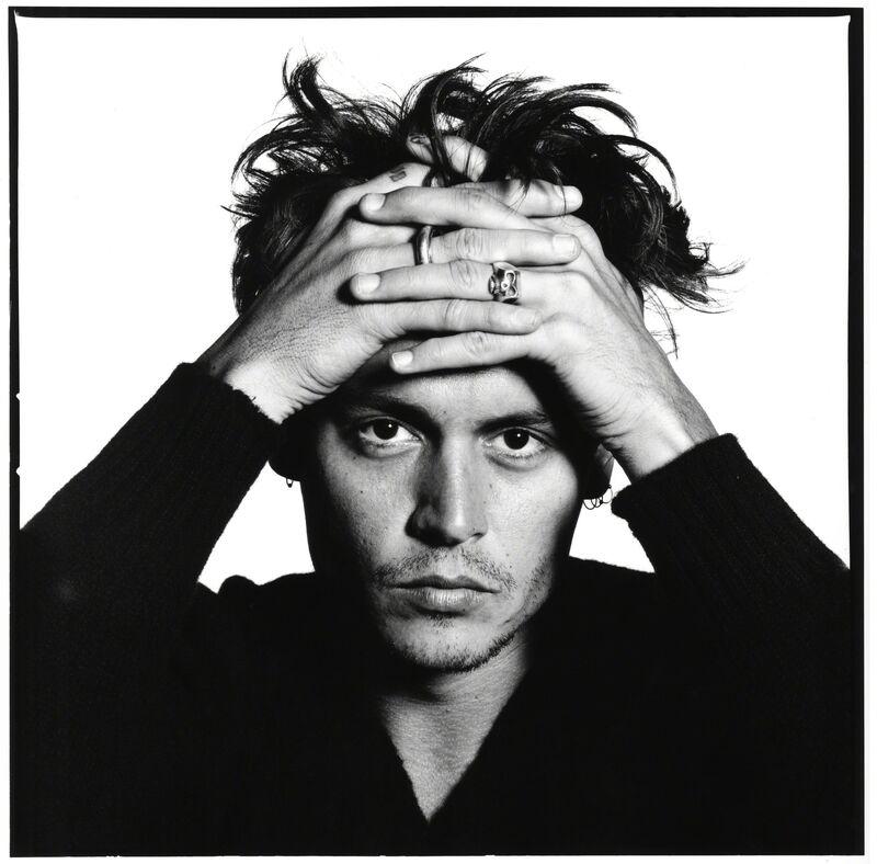 David Bailey, 'Johnny Depp', 1995, Photography, Photograph, Padiglione d'Arte Contemporanea (PAC)