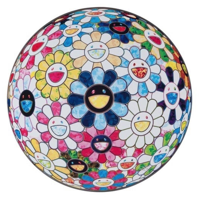 Takashi Murakami, 'THE FLOWERBALL'S PAINTERLY CHALLENGE ', 2016, Print, Offset lithograph on paper, Marcel Katz Art