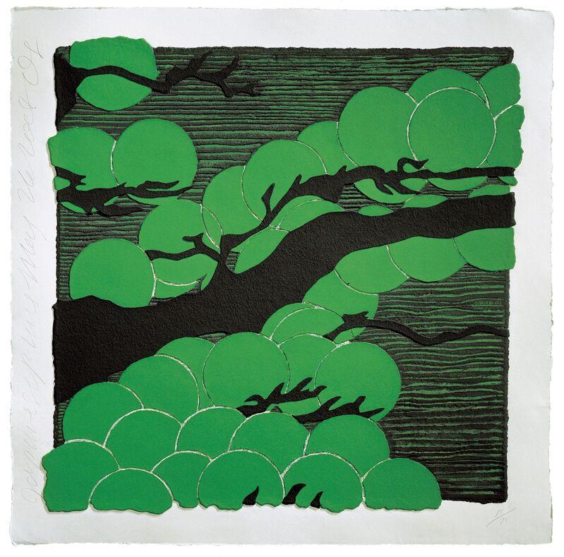 Donald Sultan, 'Japanese Pines', 2008, Print, Mixografía® print on handmade paper, Mixografia
