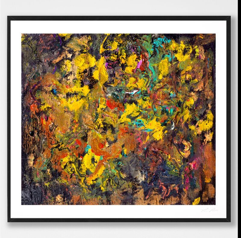 Larry Poons, 'Cherry Bobalink', 2021, Print, Epson Inkjet print with HDX Ultrachrome inks, Weng Contemporary