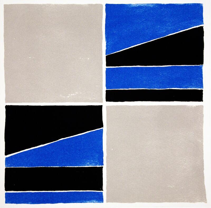 Ronnie Tallon, 'Square 4', 2013, Print, Intaglio, Stoney Road Press