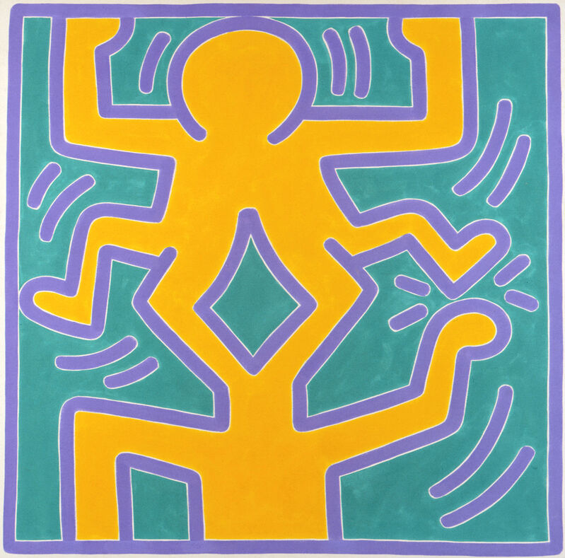 Keith Haring, 'untitled #7', 1988, Painting, Acrylic on canvas, Galerie Laurent Strouk