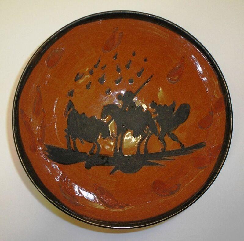 Pablo Picasso, 'Picador', 1953, Sculpture, Partially glazed terracotta bowl, Nicholas Gallery