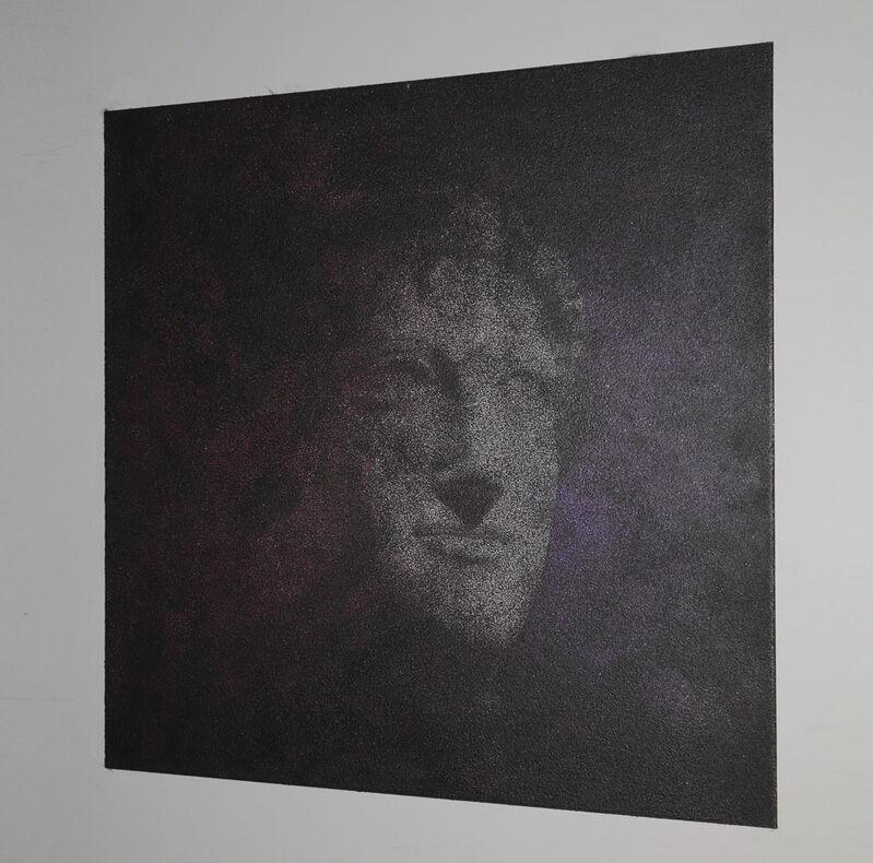 Fabrizio Corneli, 'Catadiottrico Acrolito', 2017, Mixed Media, Mixed media on aluminium plate, Studio Trisorio