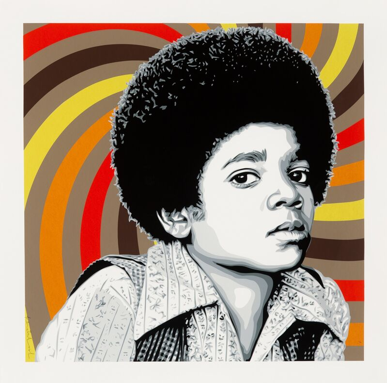 Mr. Brainwash, 'Rock With You (Brown)', 2013, Print, Screenprint in colors on Archival Art paper, Heritage Auctions