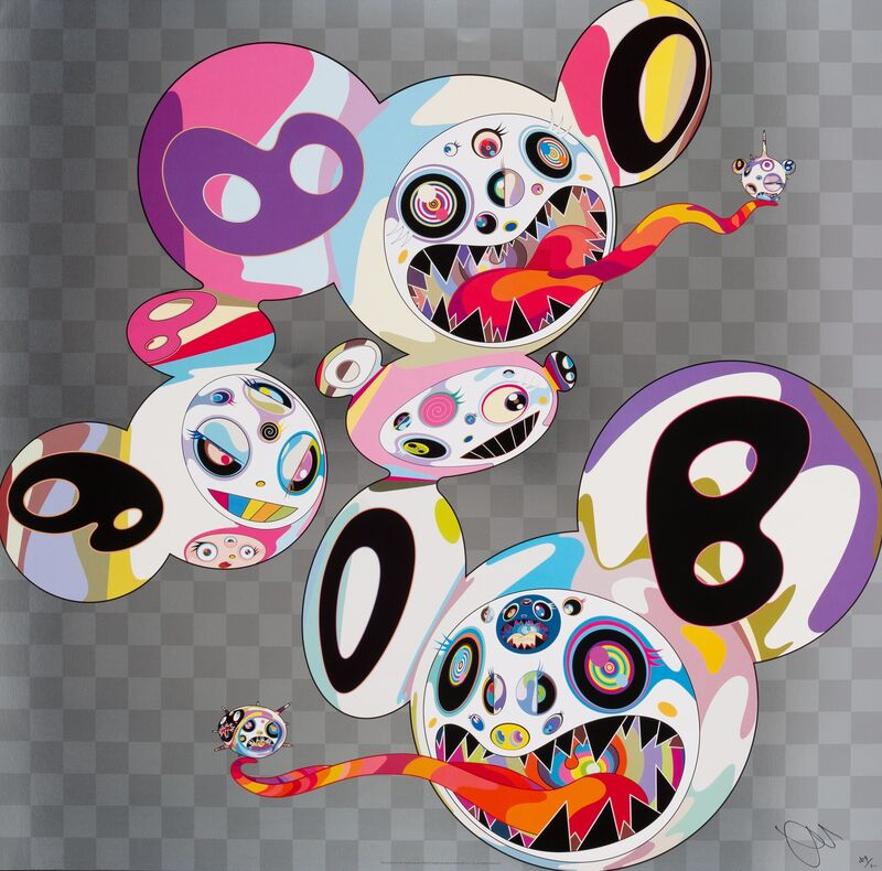Takashi Murakami, 'This World and the World Beyond', 2013, Print, Offset lithograph in colors on smooth wove paper, Heritage Auctions