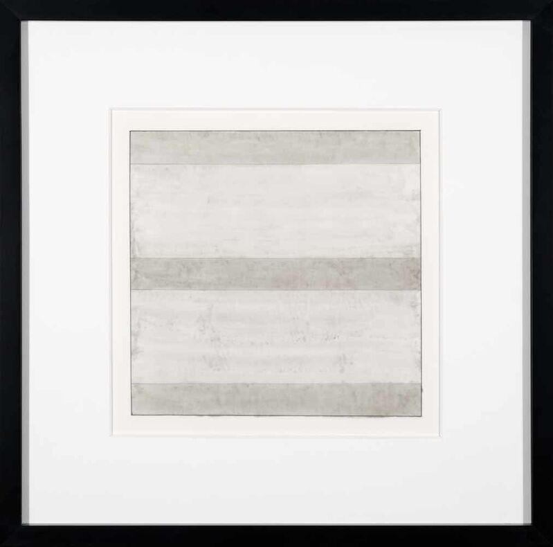 Agnes Martin, 'Untitled I', 1991, Print, Lithograph on vellum transparency paper, Addison Rowe Gallery