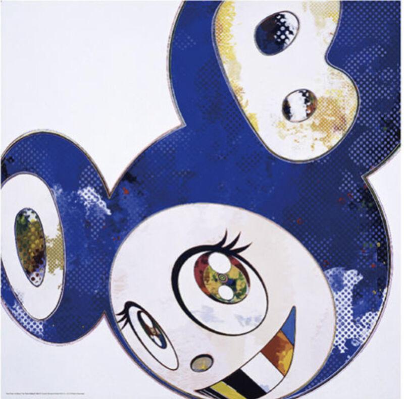 Takashi Murakami, 'AND THEN x6 BLUE THE POLK METHOD', 2016, Print, Offset lithograph on paper, Marcel Katz Art