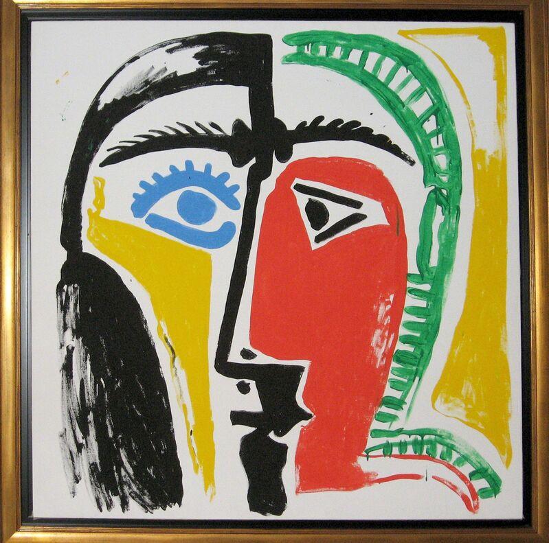 Andy Warhol, 'After Picasso', 1985, Painting, Synthetic polymer paint and silkscreen ink on canvas, Woodward Gallery